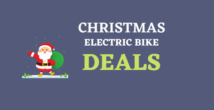 Electric bikes deals for Christmas